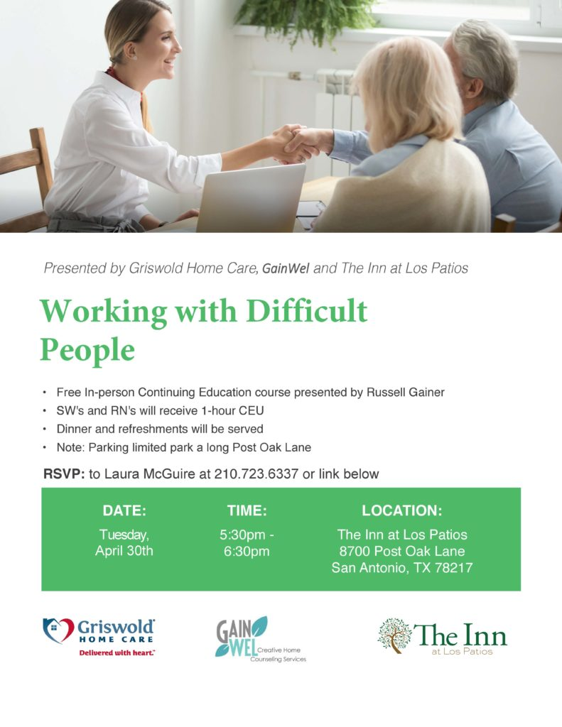 CEU Event for Social Workers and Nurses